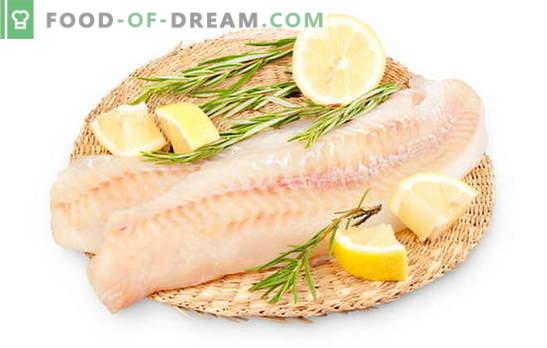 Como preparar um filé de pollock para tornar o peixe suculento. Como preparar o pollock filé em uma panela, forno, multicooker