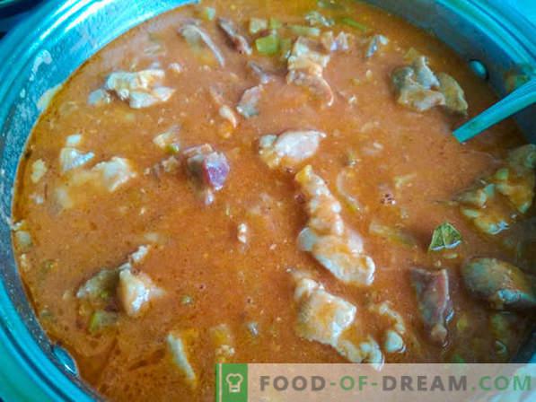 Goulash é uma sopa: duas receitas corretas de goulash e a história do prato