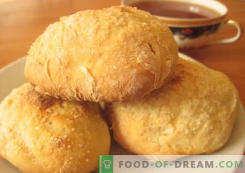 Muffins no kefir - as melhores receitas. Como cozinhar corretamente e saboroso pãezinhos em iogurte