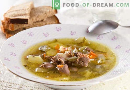 Pickle pickle de cebada - las mejores recetas. Cómo cocinar correctamente y sabroso el encurtido con cebada.