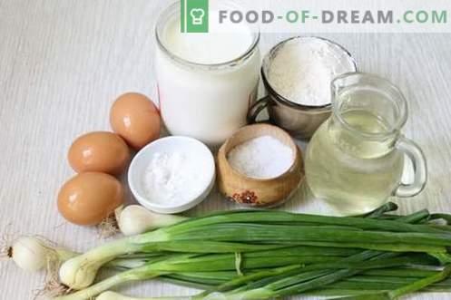 Torta com ovo e cebola