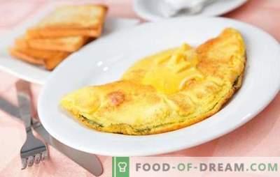 Receitas deliciosas para o que pode ser cozinhado rapidamente e facilmente dos ovos. Cafés da manhã leves, lanches e sobremesas que podem ser feitos a partir de ovos rapidamente
