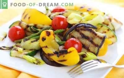 Marinada para legumes - você dá um novo sabor! Receitas de marinadas diferentes para legumes na grelha, grelha e no forno