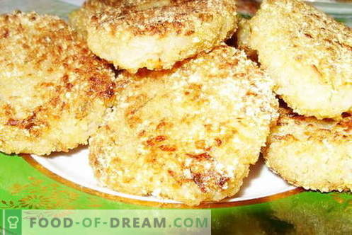 Rissóis de repolho são as melhores receitas. Como bem e saboroso cozinhar costeletas de repolho.