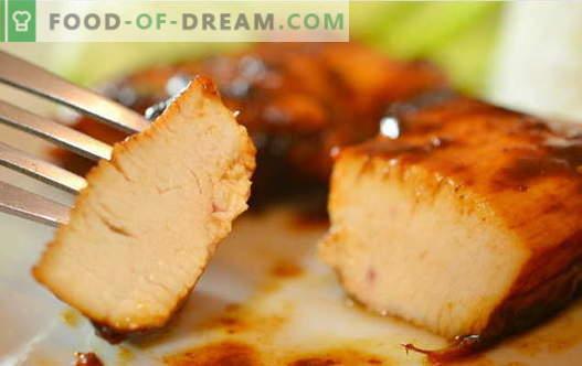Frango ao molho de soja - as melhores receitas. Como corretamente e saboroso cozinhar frango com molho de soja.