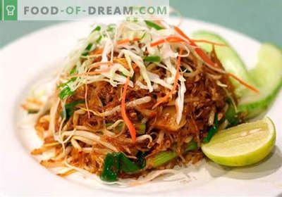 Saladas chinesas - uma seleção das melhores receitas. Como corretamente e saboroso cozinhar saladas chinesas.