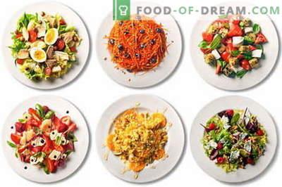 Saladas rápidas, fáceis e simples são as melhores receitas. Como fazer uma salada leve em questão de minutos.