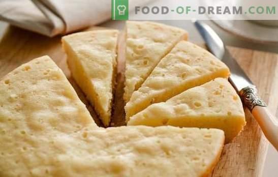 Um mannik sem farinha é simplesmente impossível! Receitas de mannics diferentes sem farinha no kefir, creme azedo, leite no forno e no fogão lento