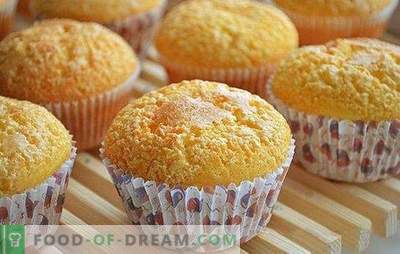 Muffins clássicos - eles são perfeitos! Americano e nossas receitas de muffins clássicos com chocolate, frutas vermelhas, passas