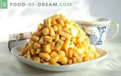Honey Chak-Chak - receitas passo-a-passo com fotos e todos os detalhes. Cozinhando delicioso e perfumado Tatar chak-chak como na foto