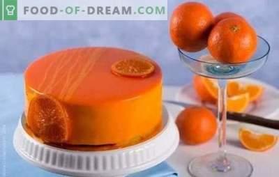 Cozinhando com prazer: bolo de chocolate e laranja. Receitas simples e complexas de bolos de laranja com chocolate e sem
