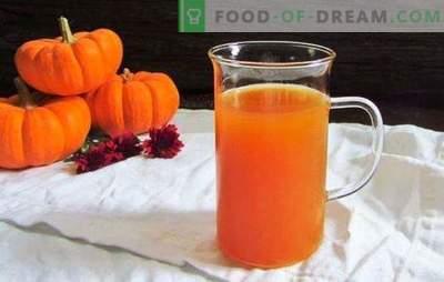 Suco de abóbora e maçã é um milagre, sem feitiçaria! Faça um estoque de suco de abóbora e maçãs de acordo com receitas comprovadas