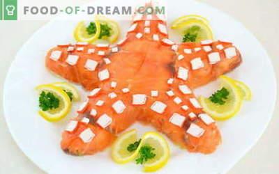 Salada de mar - as melhores receitas. Como corretamente e deliciosamente cozinhar saladas de frutos do mar.