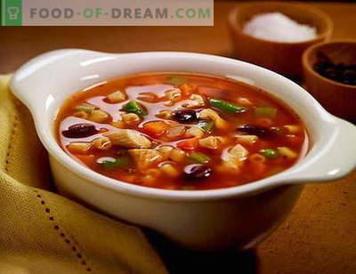 Solyanka sriuba - geriausi receptai. Kaip tinkamai ir skaniai sriubos sriuba.