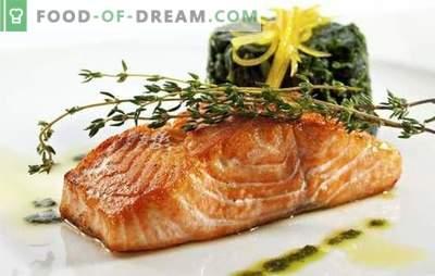 Pratos de salmão rosa - uma grande variedade de sabores. Receitas de pratos originais de salmão rosa: primeiro e segundo, saladas e aperitivos