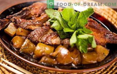 Cum să gătești rață cu cartofi în cuptor? Retete foarte gustoase de rață cu cartofi în cuptor, nu numai pentru sărbătorile