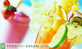 Receitas de coquetel não alcoólicas - as mais deliciosas e saudáveis 