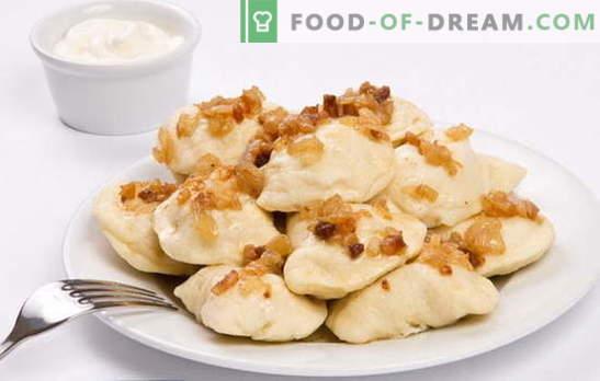 Bolinhos com batatas cruas - mais bom, menos barulho. Receitas de bolinhos com batata crua e bacon, picada