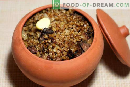 mingau de trigo sarraceno - as melhores receitas. Como cozinhar mingau de trigo sarraceno.