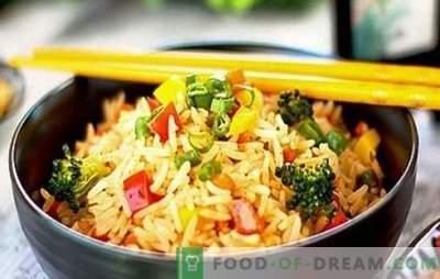 Rijst met groenten in een slowcooker - weggevreten voor beide wangen! Recepten voor verschillende rijstgerechten met groenten in een slowcooker