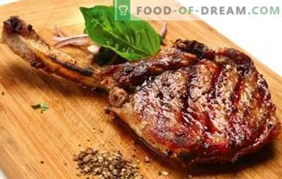 Carne de porco com osso - as receitas para a carne mais deliciosa. Como cozinhar a carne de porco com osso no forno, no pote do jarro de barro e no fogão