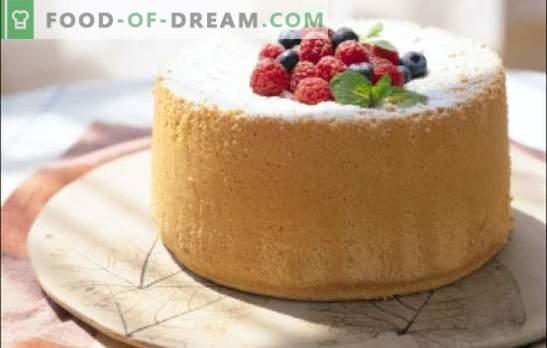 Um biscoito simples para um bolo com pressa - não vamos nos esforçar! Receitas fáceis biscoitos para forno, multicozinha, microondas
