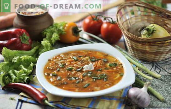 Sabor leve e sopa de culinária: como cozinhar picles. O segredo de cozinhar picles dos produtos mais simples: rápido e saboroso