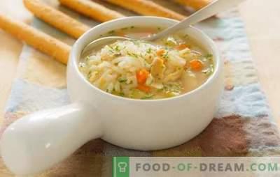 Sopas de peixe para crianças: características da introdução à dieta. Receitas para sopas de peixe para crianças de peixe fresco e enlatado