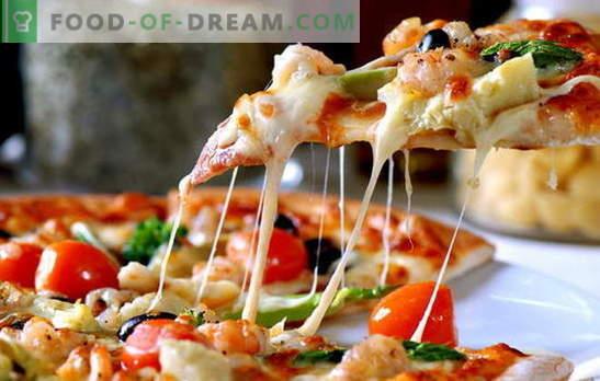 A receita da pizza italiana é uma pequena jornada em busca da verdade. Experimentos pizzayolov na receita de pizza italiana