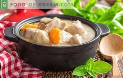 Um peru em creme azedo: mais tenro, mais suculento! As melhores receitas de peru em creme azedo com legumes, cogumelos, bacon