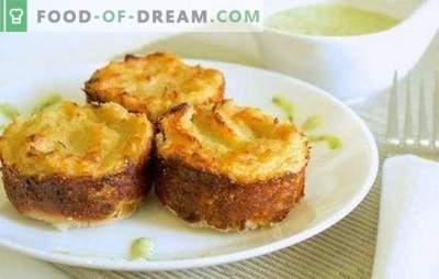Massa de batata com carne picada no forno: caçarola ou torta? Cozinhando nutritivo, simples e saboroso batata avó com carne picada no forno