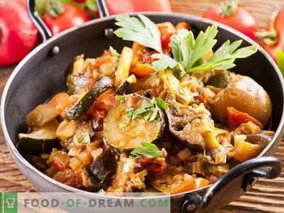 Berinjela Saute - as melhores receitas. Como preparar corretamente e deliciosamente um sauté de berinjela.