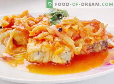 Žuvys pagal marinatą - geriausi receptai. Kaip tinkamai ir skaniai virti žuvis pagal marinatą.