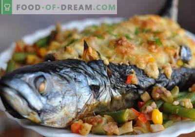Makrela z warzywami - najlepsze przepisy. Jak prawidłowo i smacznie gotować makrele z warzywami.