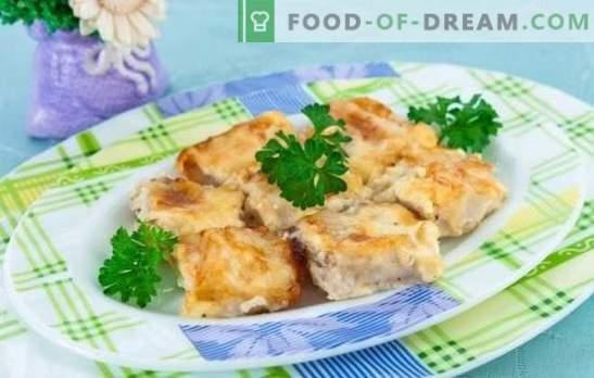 Peixe em uma omelete é uma combinação maravilhosa! Receitas para peixes diferentes em uma omelete no forno, na panela e no fogão lento