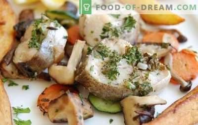 Pescada no fogão lento - um jantar saudável e saboroso. Receitas de pescada em um fogão lento: ensopado, assar, vapor
