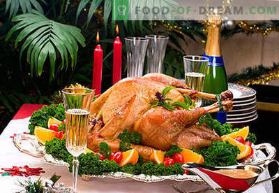 Os pratos da mesa de Ano Novo são as melhores receitas. Como fazer o jantar da véspera de Ano Novo realmente festivo.