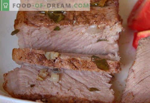 Presunto assado na manga - as melhores receitas. Como cozinhar corretamente e saboroso presunto na manga em casa.
