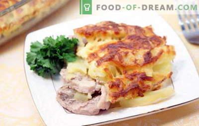Kiauliena prancūziškai su bulvėmis - skanus! Prancūzijos kiaulienos receptai su bulvėmis: orkaitėje, lėtoje viryklėje, keptuvėje