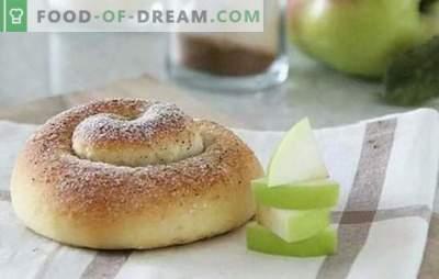 Bolos espanhóis são tenros, recheados e sem. A manhã começa com pães espanhóis: creme, passas, nozes, canela