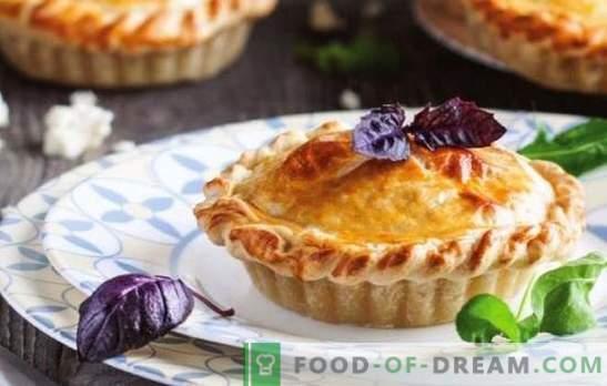 Torta de queijo de Adyghe - pastelaria aromática macia. Receitas tortas abertas e fechadas com queijo Adyghe