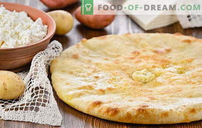Torta de batata e queijo é fácil! Receitas para tortas com batatas e queijo de puff, shortbread, levedura e massa gelatinosa