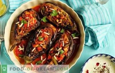 Berinjela em turco com carne picada - um favorito da culinária turca! Receitas, sutilezas e segredos da culinária suculenta e incrivelmente deliciosa berinjela em turco com carne picada