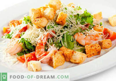 Saladas para o jantar - as melhores receitas culinárias. Como saladas adequadas e saborosas para cozinhar para o jantar.