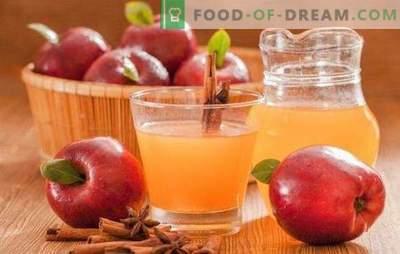 Ябълков сок за зимата у дома: не се бърка в технологията! Класически и миксови варианти на този ябълков сок за зимата