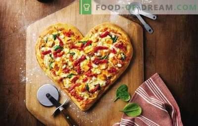 Pica majonēze - iecienīts ēdiens bez problēmu. Atlases receptes picas mīklai majonēze