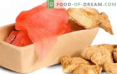 Gengibre em conserva: Fazendo isso em casa - tempero picante para suas refeições favoritas. Como conservar o gengibre em casa