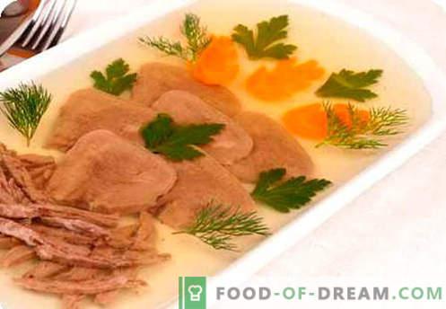 Caldo de carne - as melhores receitas. Como corretamente e cozinhar o caldo de carne.