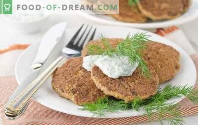 Lush liver patties: recipes. From which liver are the most magnificent liver cutlets: chicken, beef or pork?