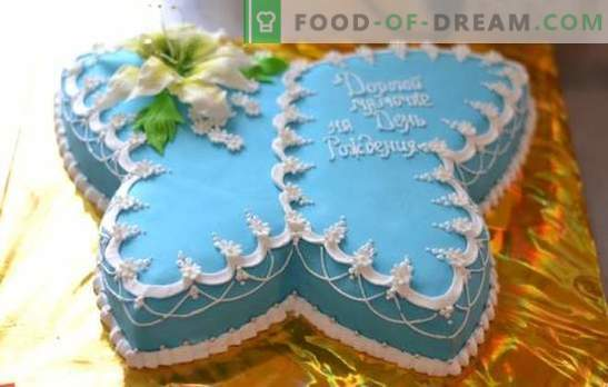 O Bolo de Borboleta é uma sobremesa original para qualquer feriado. Como fazer um bolo em forma de borboleta: opções para massa, creme e decoração